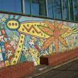 小学校の壁画