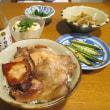 帯広いっぴんの豚丼(ぶたどん)のタレで・・・・