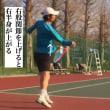 ■フォアハンドストローク  右股関節を上げて高い打点を振り抜いていく  〜才能がない人でも上達できるテニスブログ〜