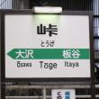 奥羽本線・・・最高海抜駅・・・スノーシェルターで覆われた・・・峠駅