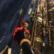 バリトンサックス Bambu Ligature バンブー リガチャー (二回目)