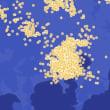 【関東大雷雨】都心で2時間に1000発の落雷観測 ウェザーニュース
