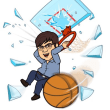 啓明中バスケ部 祝全国大会出場!寄付金を募集しています