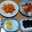 今日の朝食(4月25日)シマホッケにナスの炒め物