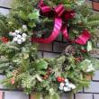 ◇◇◇ クリスマスリースを飾り…♪
