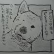 4コマ漫画【夜の訪問者】