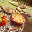グラタンの夕ご飯