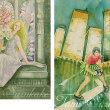絵画販売・水彩・原画「ステンドグラス」「スクープ」