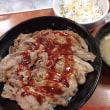 東京新宿で絶滅危惧種の「東京チカラめし」で焼き牛丼