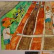 県ジュニア美術展と五輪の精神と