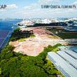 シンガポールのサンシープ、北部沖に大規模太陽光発電施設を開発。