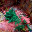 いちごサロン:毛糸のポンポン作り 2018.1.15