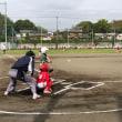 少年野球の開会式