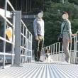 恐怖の「浮き橋」体験