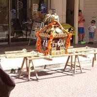 一之宮神社の例祭のおみこし