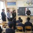 国際理解教育授業(フランス交流)を実施しました。