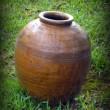 沖縄県うるま市石川在 ★ビオスの丘で発見した壺 (*^_^*)
