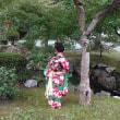 孫の七五三(宗像神社)