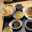 今日のランチは「鱧と夏野菜天丼」!