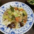 残り野菜で八宝菜を~~~~!
