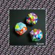 折り紙 12枚で作る24面体のくす玉