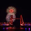 第62回 大川花火大会・2017 ~昇開橋と花火の競演~ その1