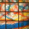壁を彩る作品