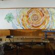 9月4日(月)大小島さん壁画制作