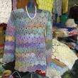 2017年12月も母が40年間研究したカスパリー編みの応用研究を教えています。