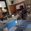 渥美清さんの献花式と「男はつらいよ」の上映会でした。