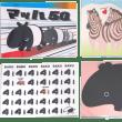 9/15~9/29シロクロ動物園 monochro zoo 展