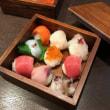 手毬寿司とプリン