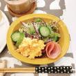卵マヨと紫キャベツのサラダの朝ごはんと 日曜日はダンス