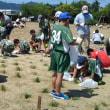 芝植えボランティア