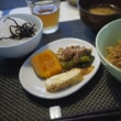 茄子と厚揚げと豚肉の蒸し物
