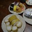 柚酢のきいた竹の子寿司ともみじ