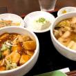 【ミニセット】広東麺+麻婆丼を頂きました。 at 元祖紙やき ホルモサ
