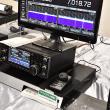 北海道ハムフェア会場にて ICOM IC-7610