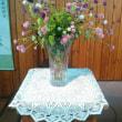 今日の教会のお花