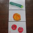 水彩画教室で秋祭展示作品を描く