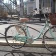 ★リサイクル(再生)自転車・中古自転車・日本製パナソニック・26インチ・シングルギヤ・グリーン