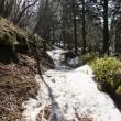 残雪の山上ヶ岳 2018年3月15日  その1