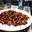 香港にて四川料理