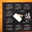 デニムのカレンダー