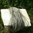 ユンボで畑の草引き
