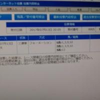 大井競馬第11レース スタールビー賞  3連単的中!!