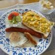 イタリアンハーブミックスDEコーン&バジルのマヨチーズトースト