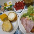 和食&洋食の朝ご飯と、クリーニング事情
