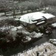 京都八瀬始めての雪景色