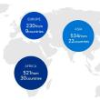 ピョンチャンオリンピック公式webの地図に日本が脱落